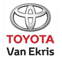 Toyota van Ekris logo